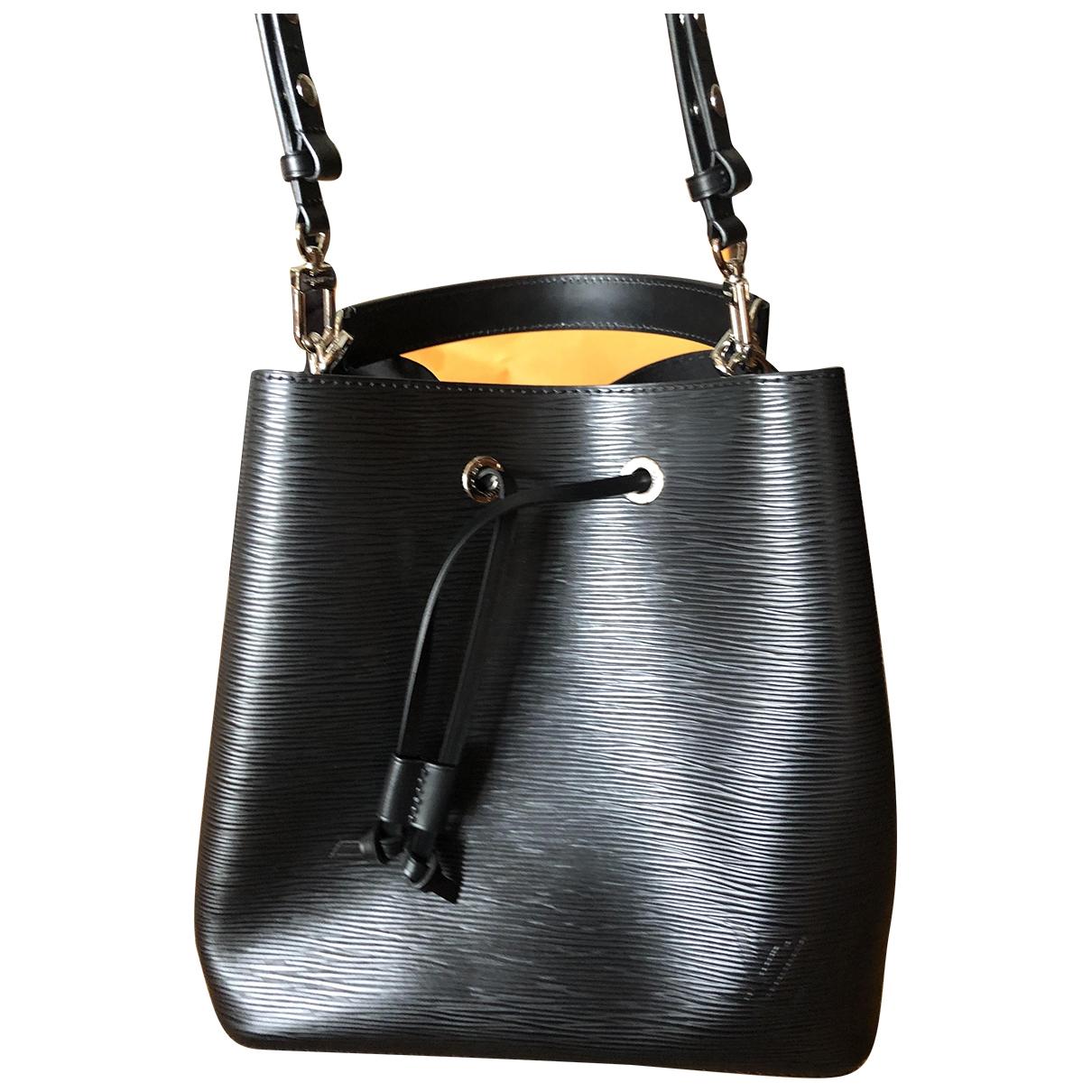 Louis Vuitton NéoNoé Black Leather handbag for Women \N
