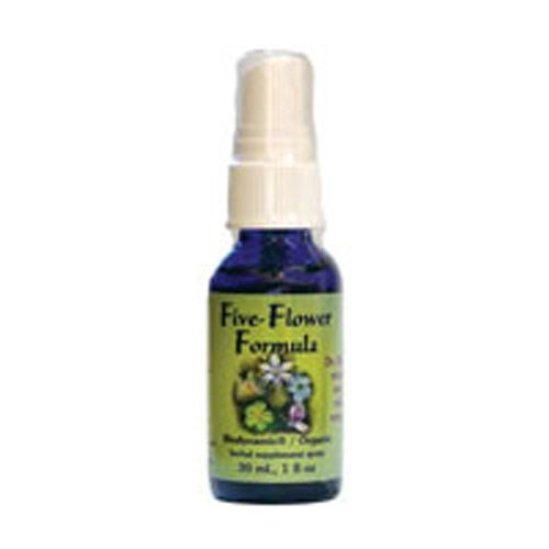 Five-Flower Formula Spray 1 oz by Flower Essence Services