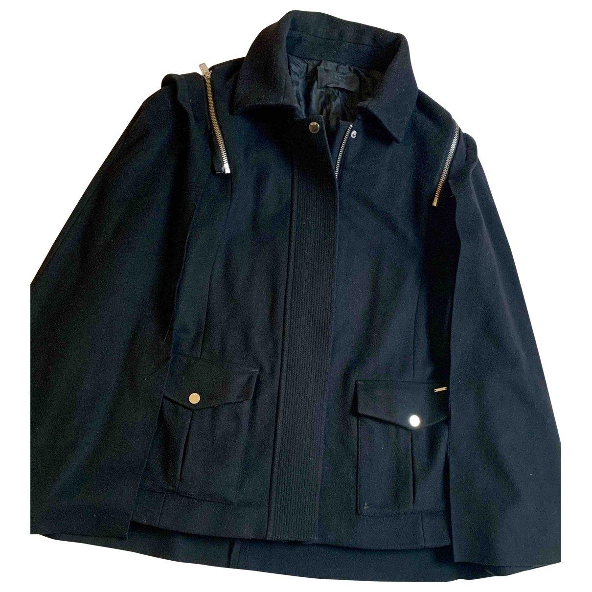 Ikks \N Black Wool coat for Women M International