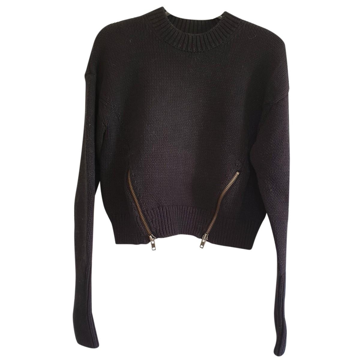 Prada \N Pullover in  Schwarz Baumwolle