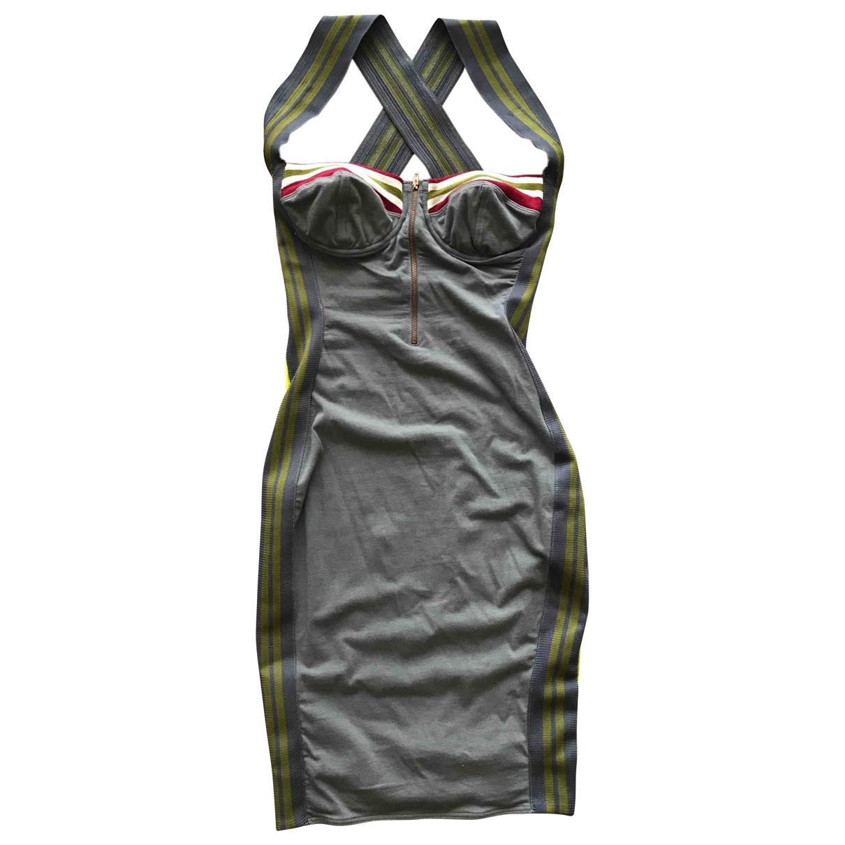 Jean Paul Gaultier \N Kleid in  Bunt Baumwolle - Elasthan