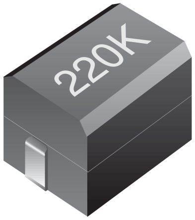 Bourns , CM453232, 453232 Wire-wound SMD Inductor with a Ferrite Core, 6.8 μH Wire-Wound 285mA Idc Q:50 (20)