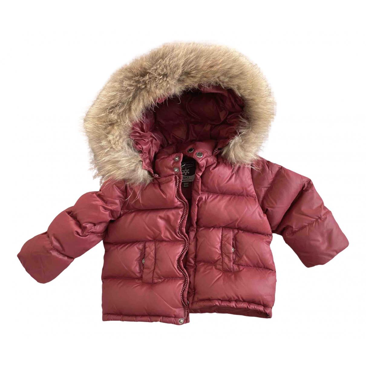 Bonpoint - Blousons.Manteaux   pour enfant - bordeaux