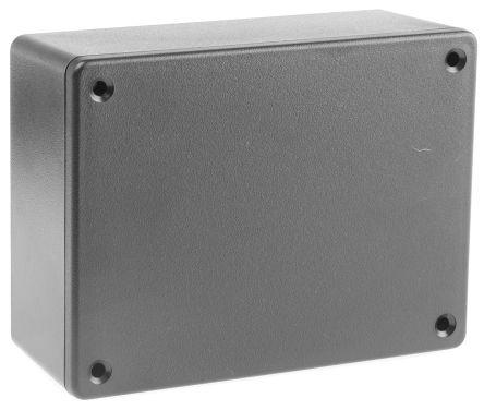 Hammond 1591, Black ABS Enclosure, IP54, 112.5 x 84.6 x 41.3mm