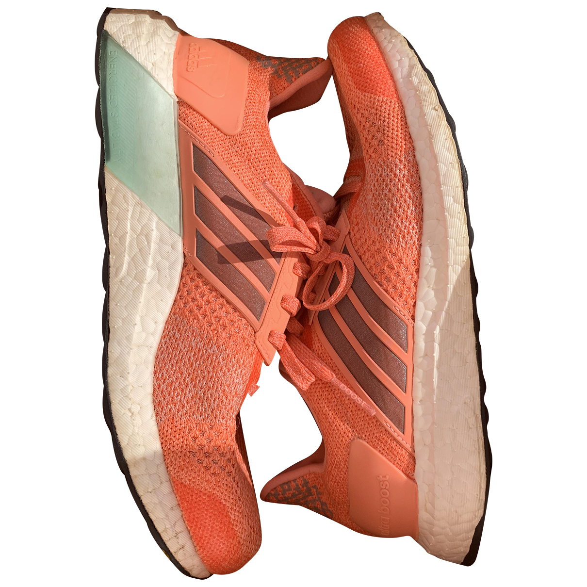 Adidas Ultraboost Sneakers in  Orange Kunststoff
