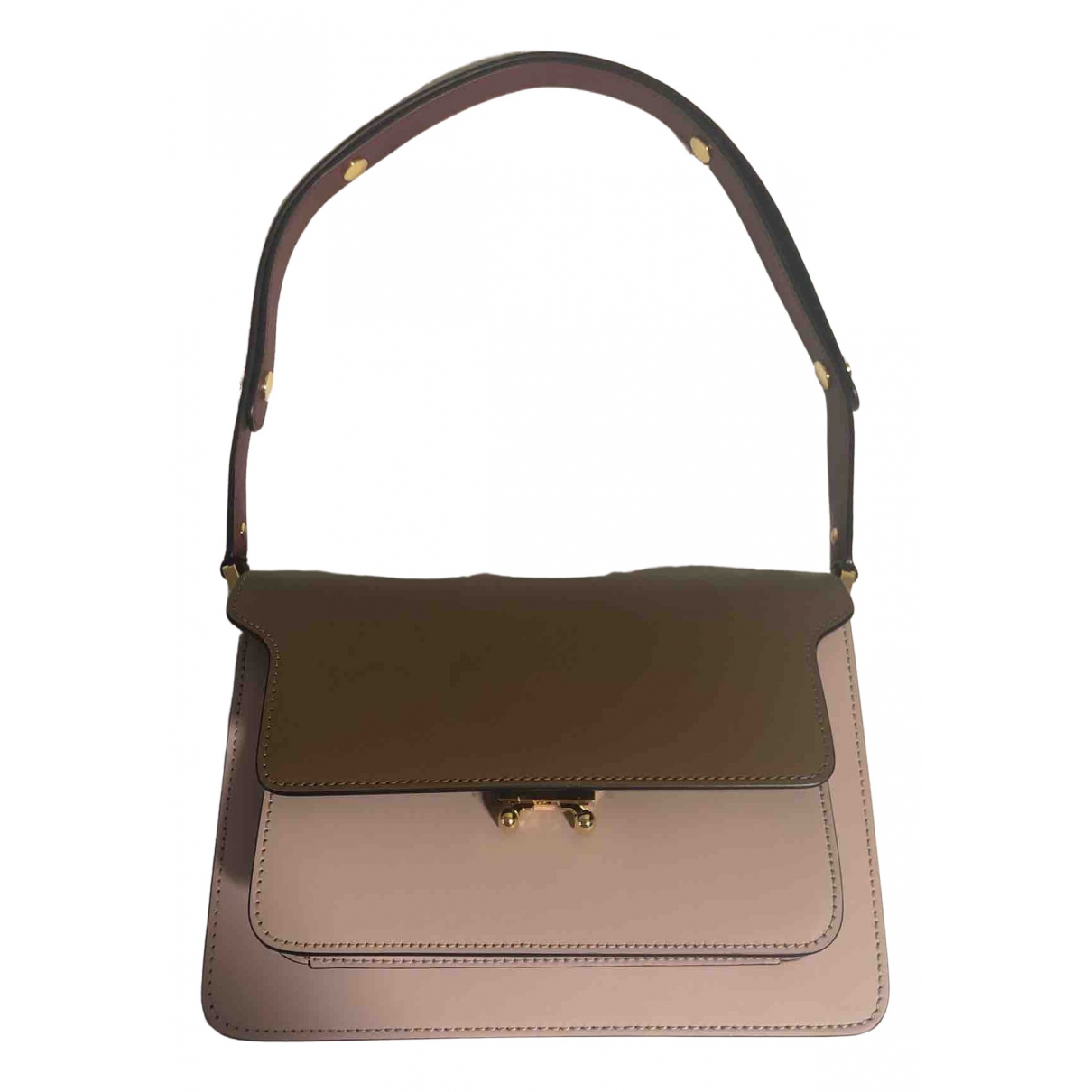 M Marani \N Handtasche in  Braun Leder