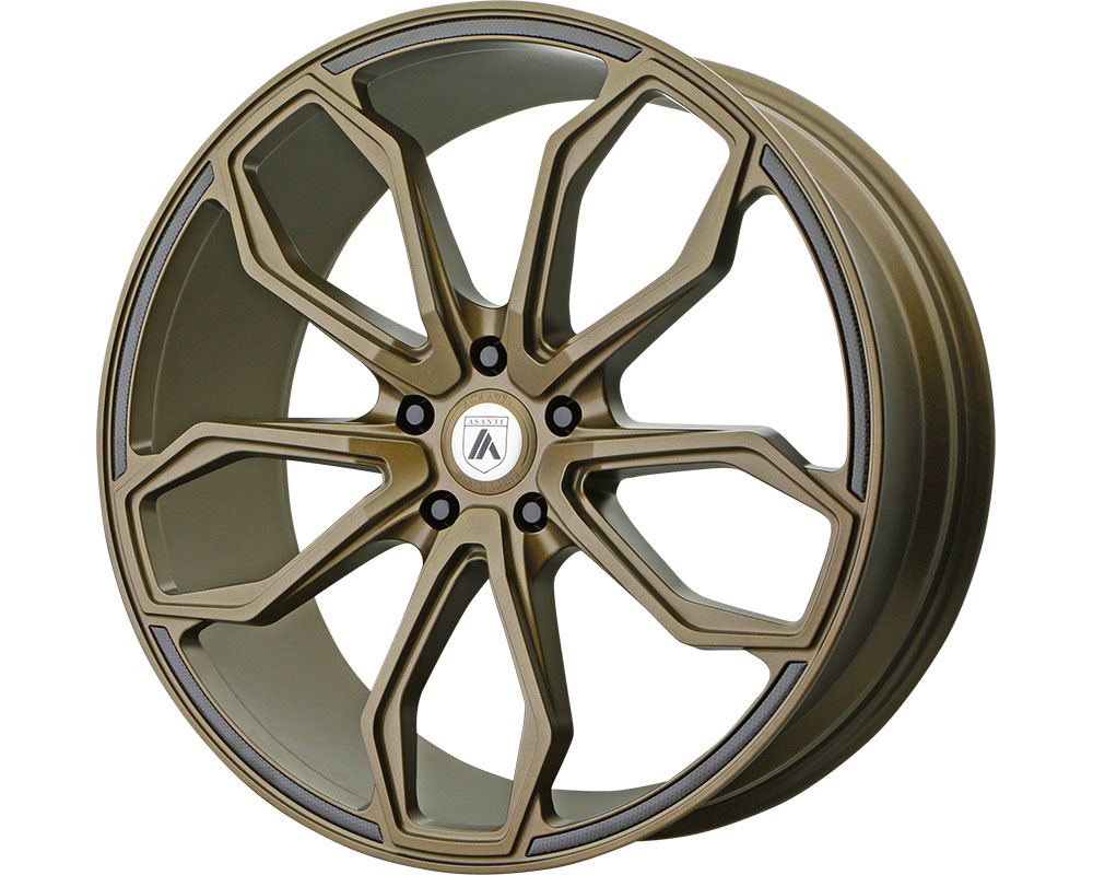 Asanti ABL19-22051235BR Black ABL-19 Athena Wheel 22x10.5 5x5x114.3 +35mm Satin Bronze