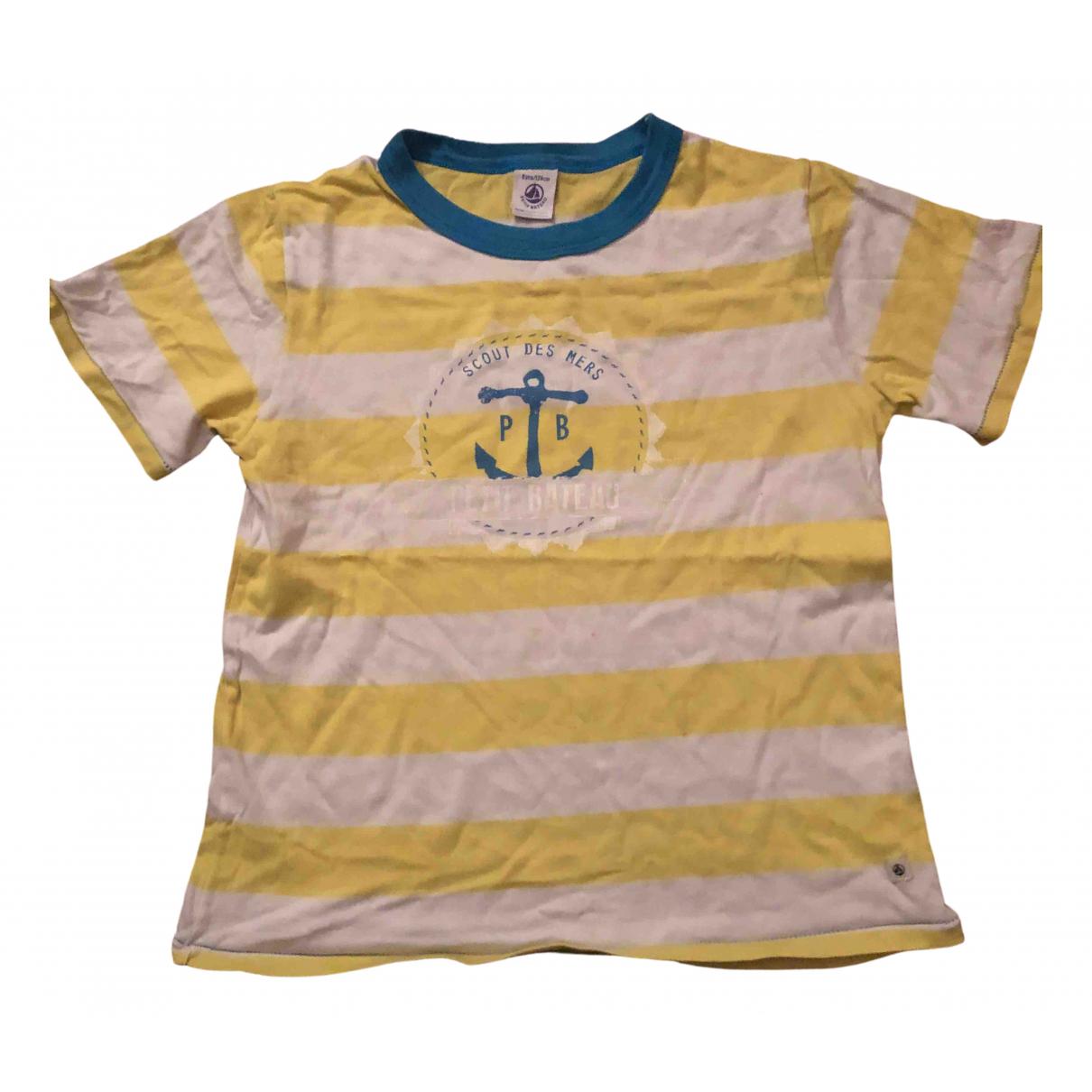 Petit Bateau - Top   pour enfant en coton - jaune