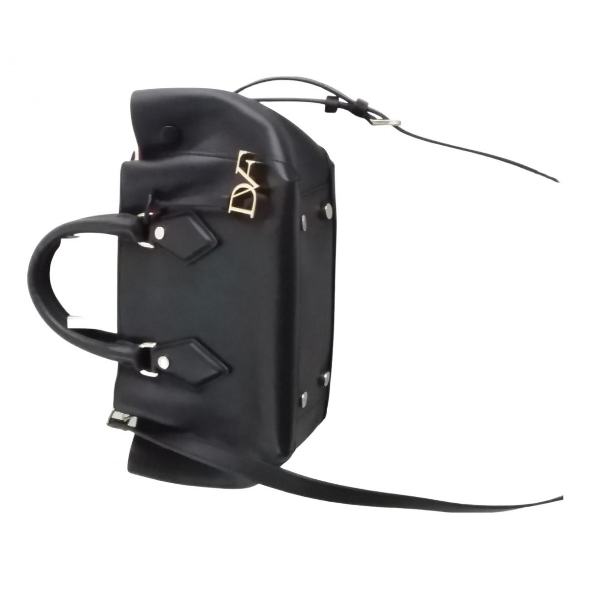Diane Von Furstenberg N Black Leather handbag for Women N