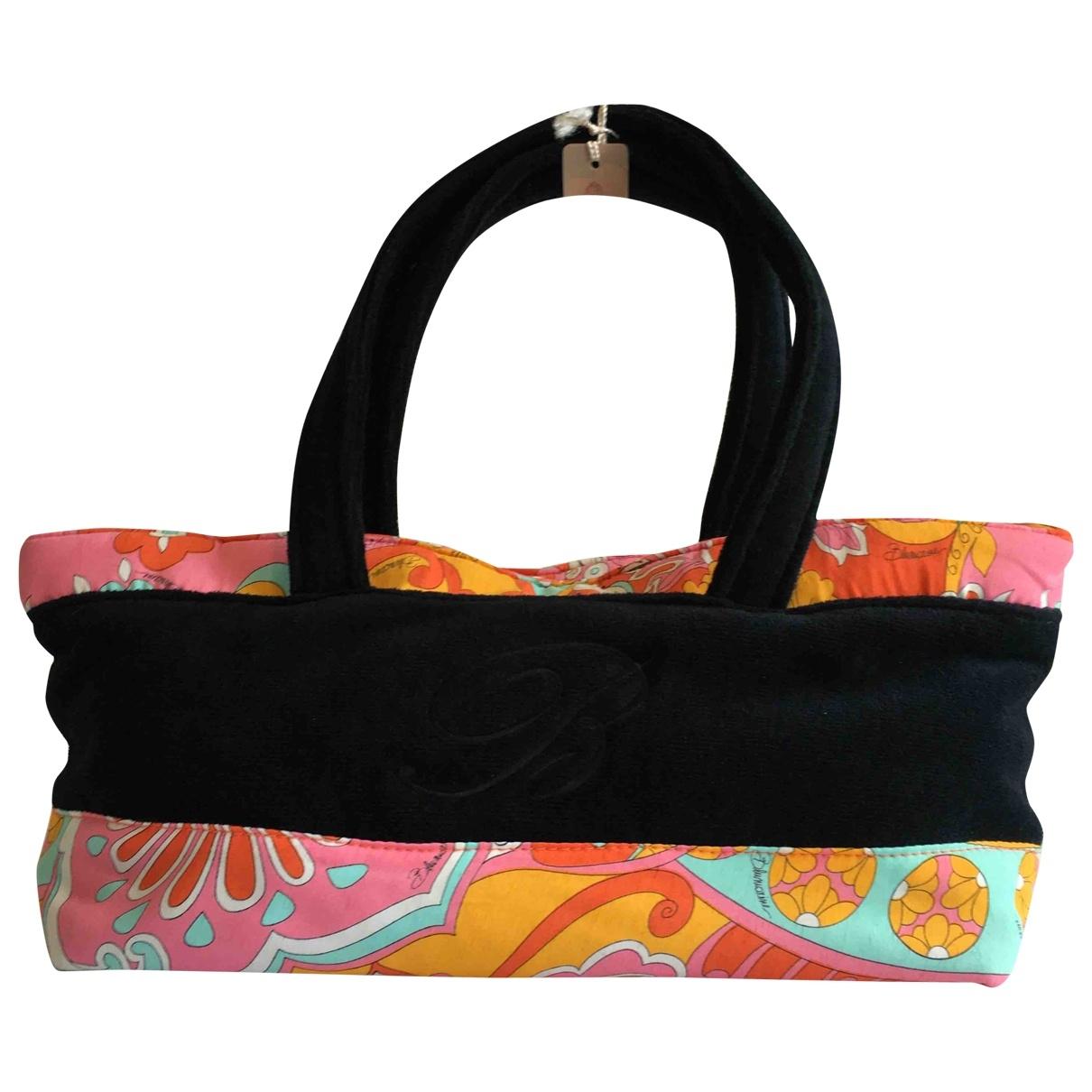 Blumarine \N Multicolour Cotton handbag for Women \N