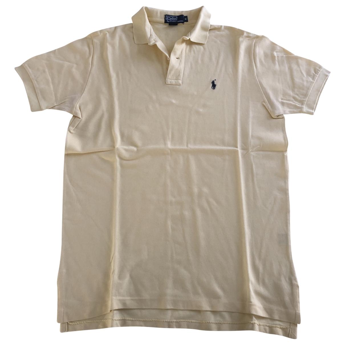 Polo Ralph Lauren - Polos   pour homme en coton - jaune