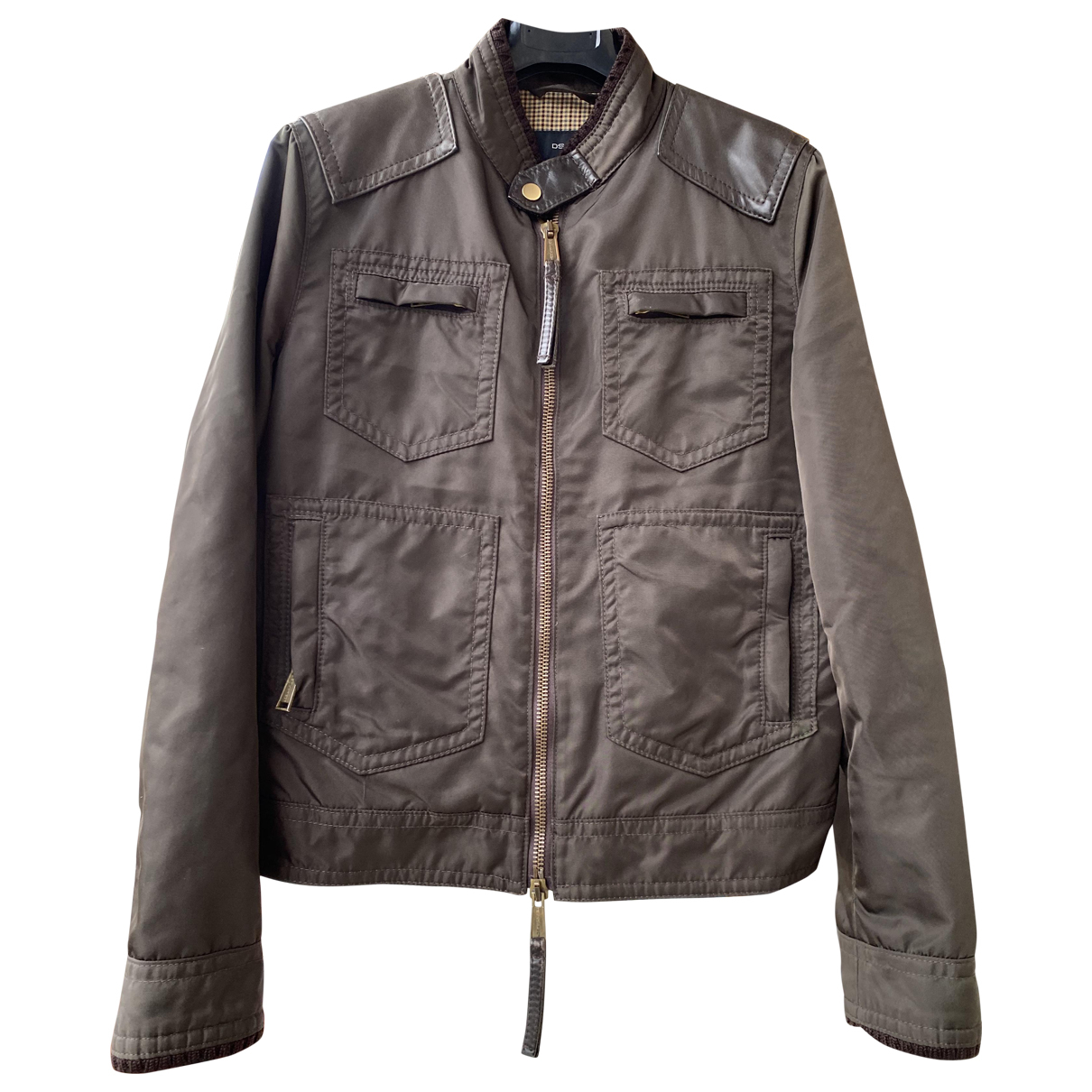 Dsquared2 \N Jacke in  Braun Polyester