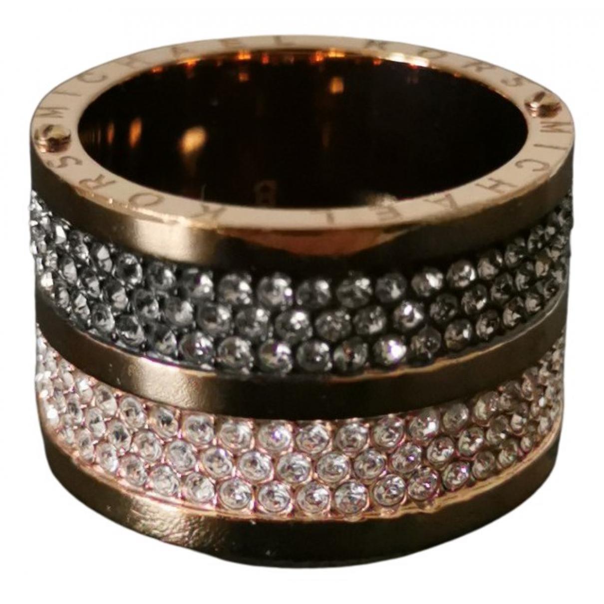 Michael Kors N Gold Pink gold ring for Women 8 US
