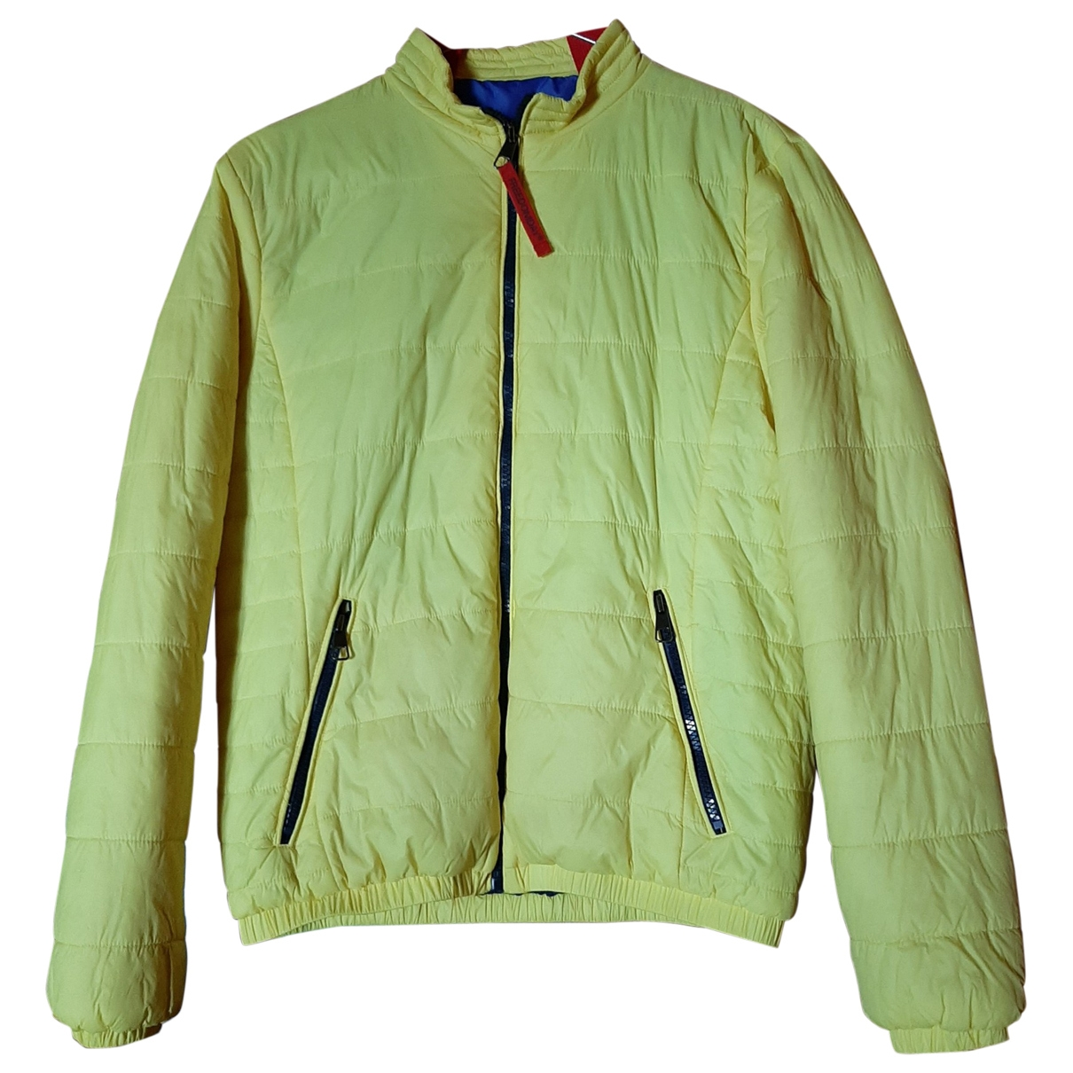 Non Signe / Unsigned \N Jacke in  Gelb Polyester