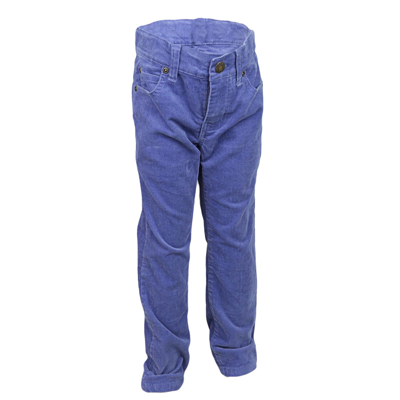 Janie And Jack Boy's Stretch Corduroy Pant - 6 - Cornflower Blue