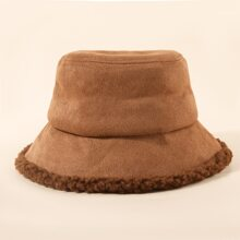 Simple Plain Bucket Hat