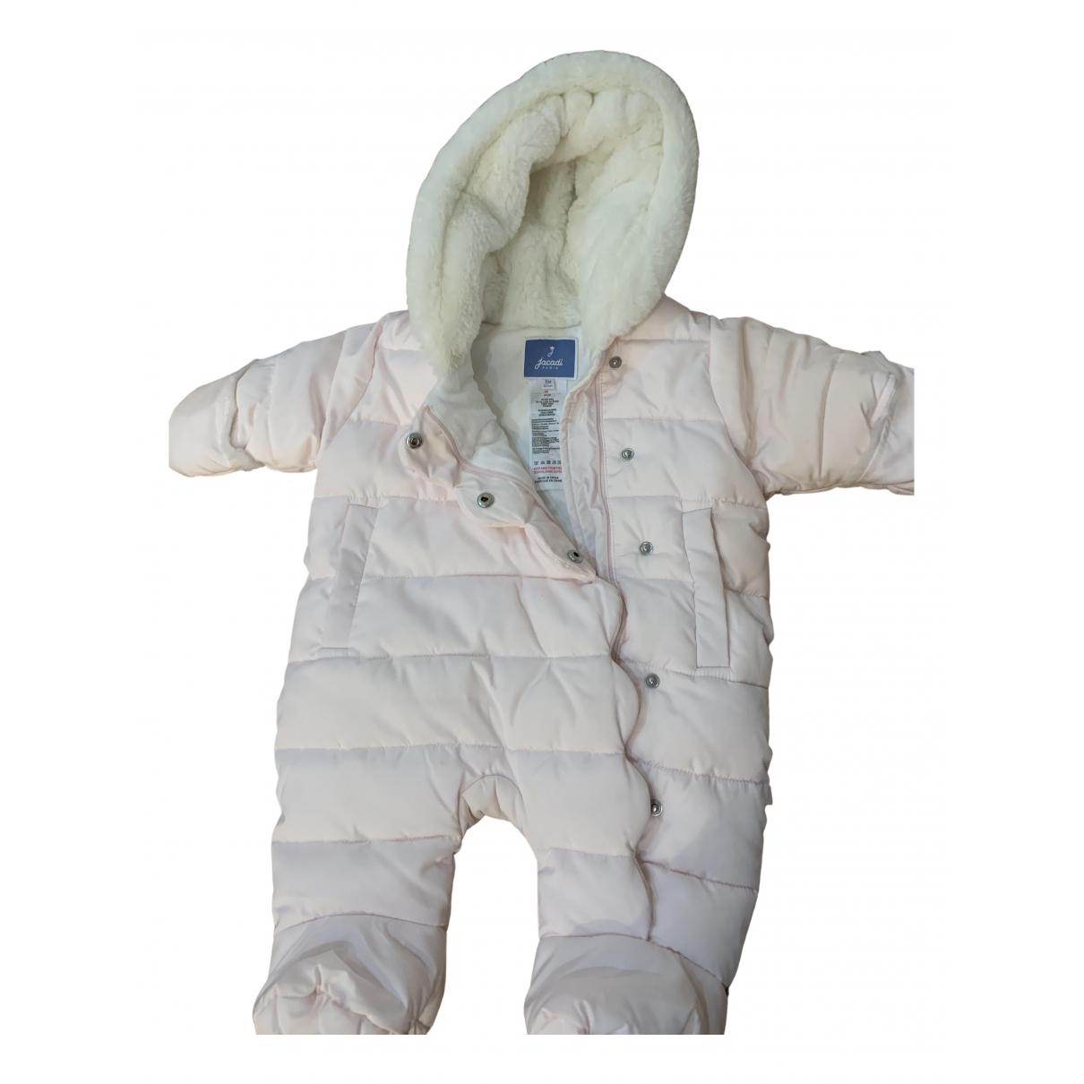 Jacadi - Blousons.Manteaux   pour enfant en coton - rose