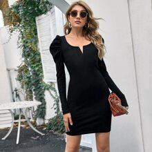 Vestidos Canale Liso Elegante