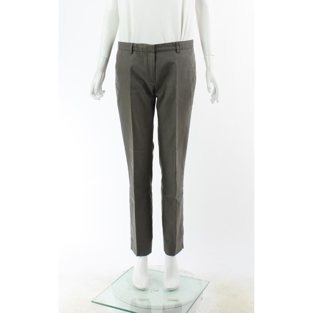 Balenciaga \N Hose in  Grau Baumwolle