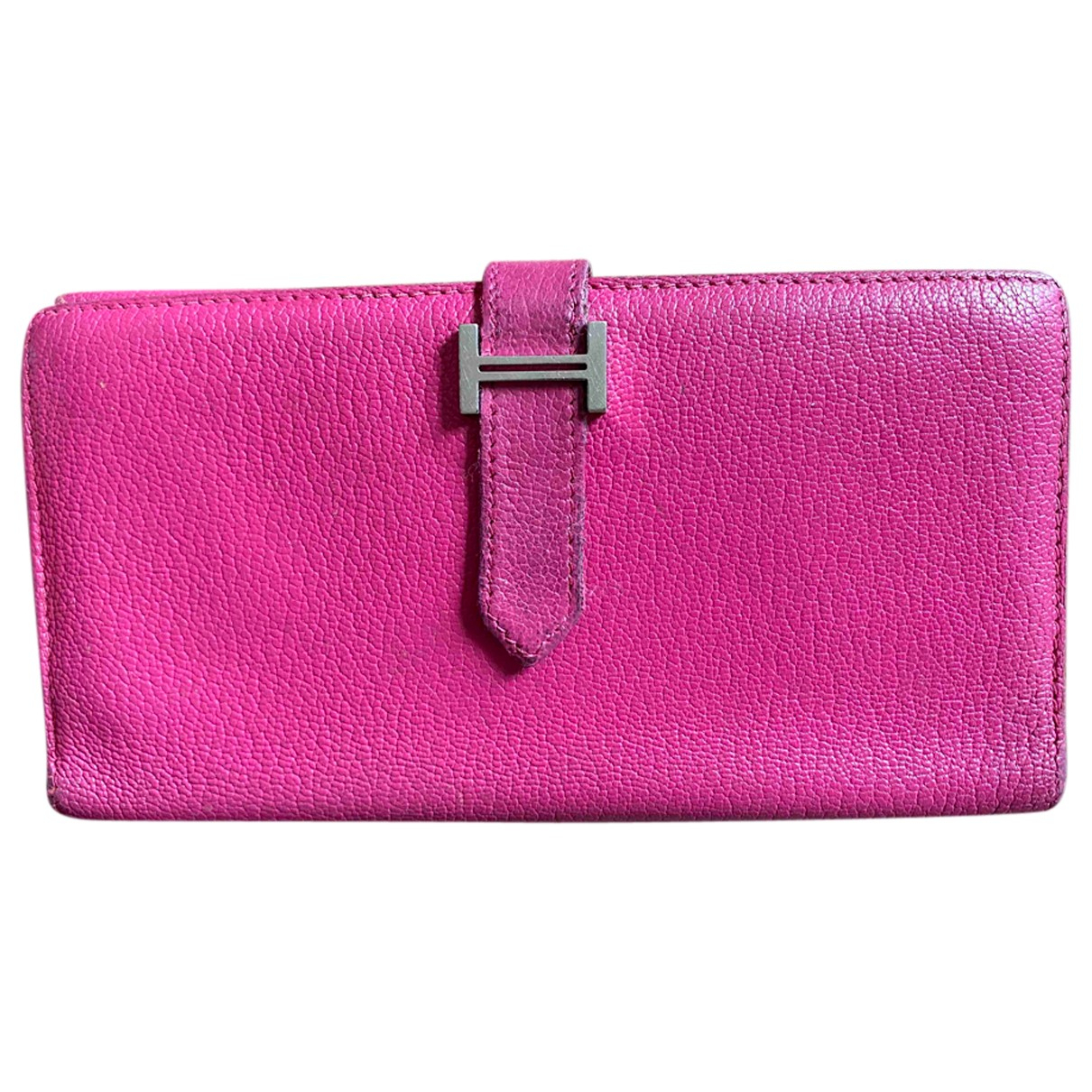 Hermès Béarn Leather wallet for Women N