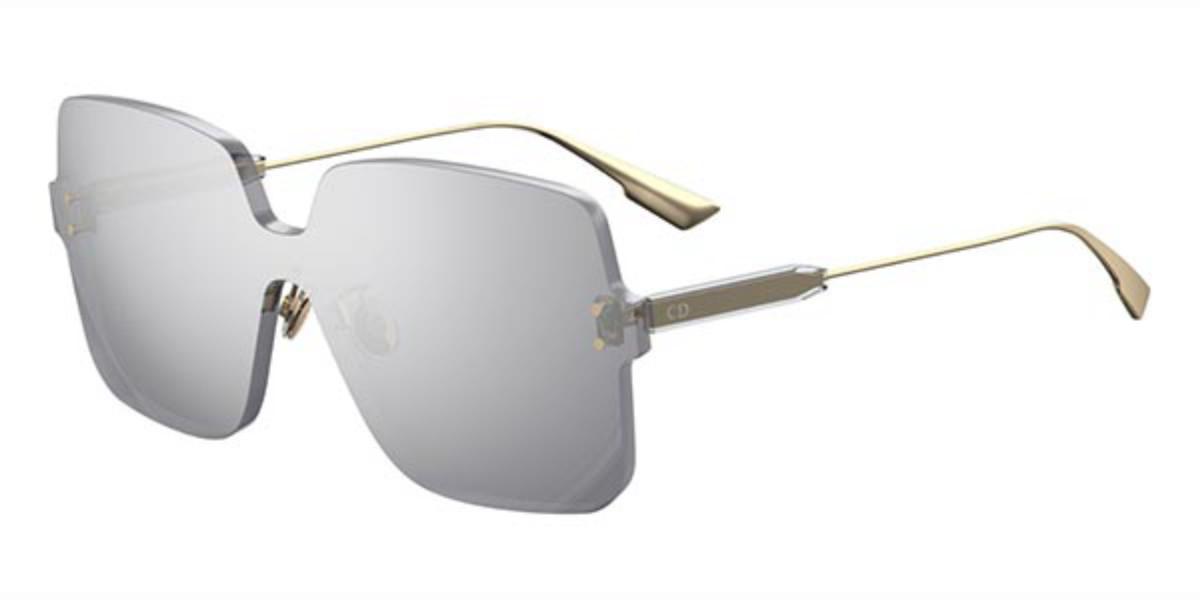 Dior DIOR COLOR QUAKE 1 YB7/T4 Women's Sunglasses Silver Size 99