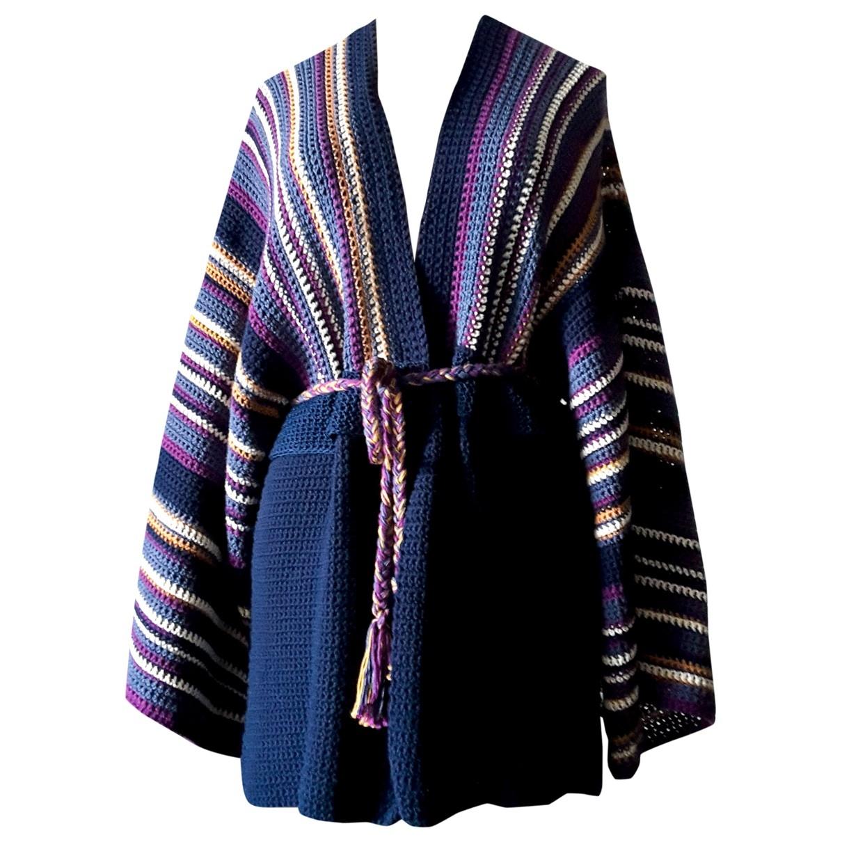 - Pull   pour femme en coton - multicolore