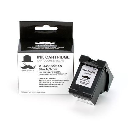 Compatible HP OfficeJet J4680c cartouche d'encre noire de marque Moustache