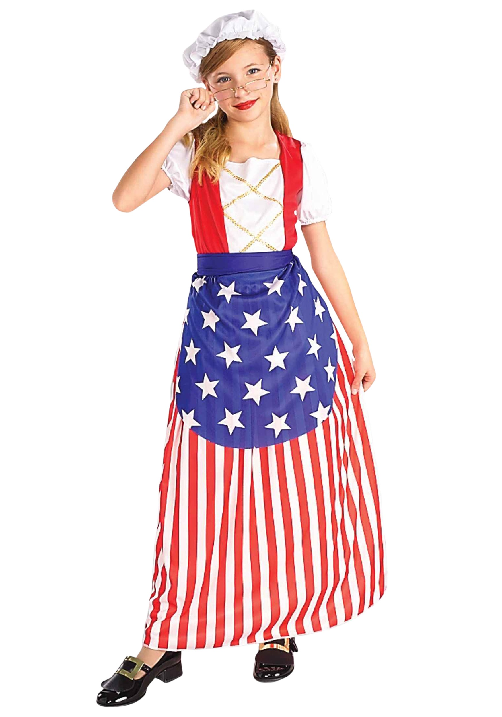 Betsy Ross Girls Costume