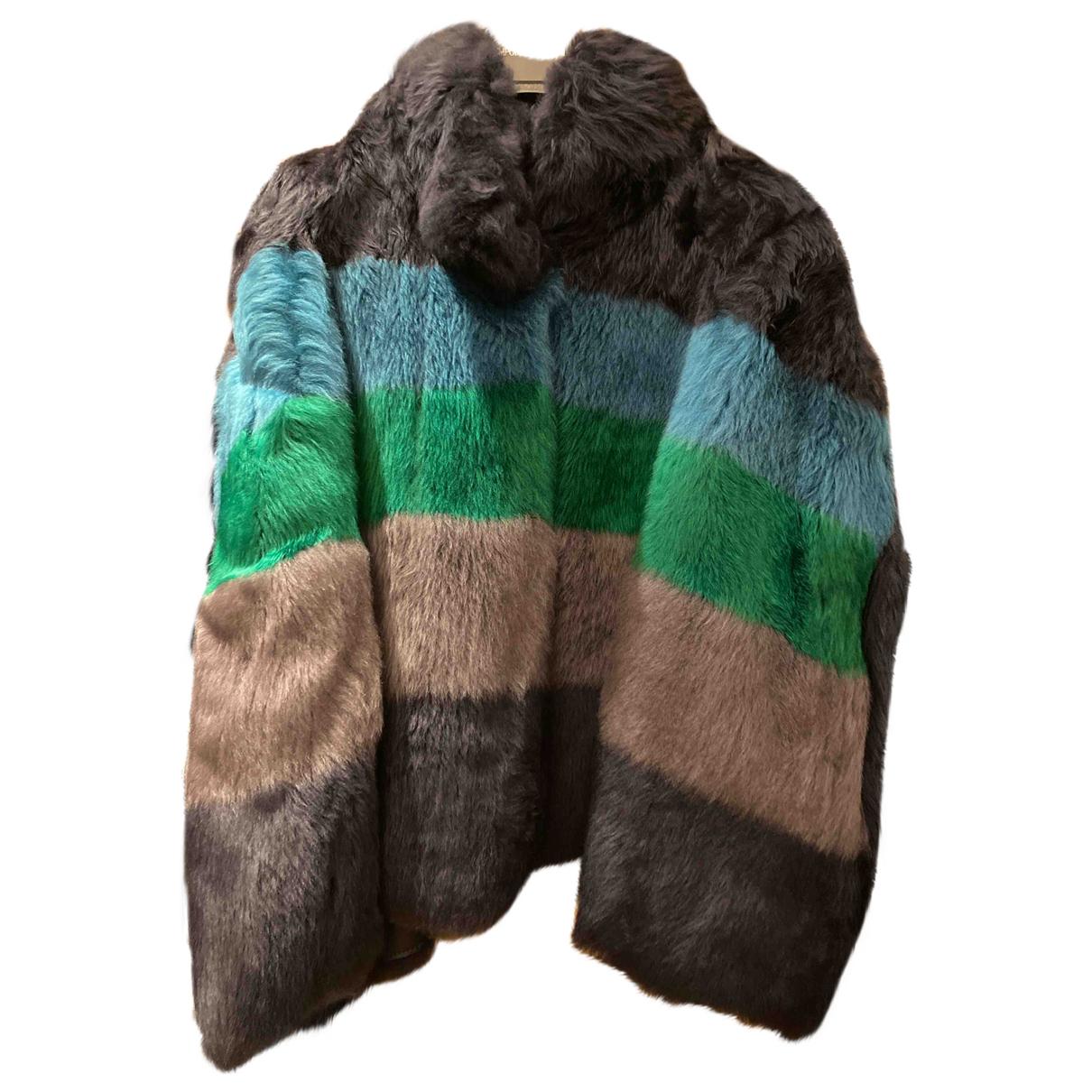 Emporio Armani \N Multicolour Faux fur jacket for Women 38 IT