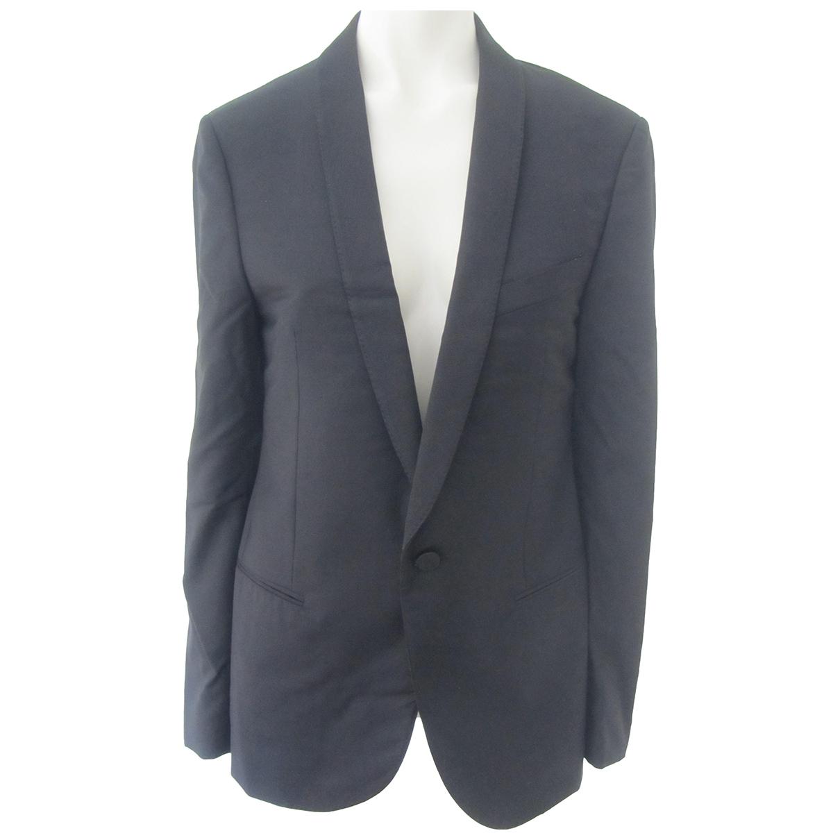 Lanvin \N Black Wool jacket  for Men 48 IT