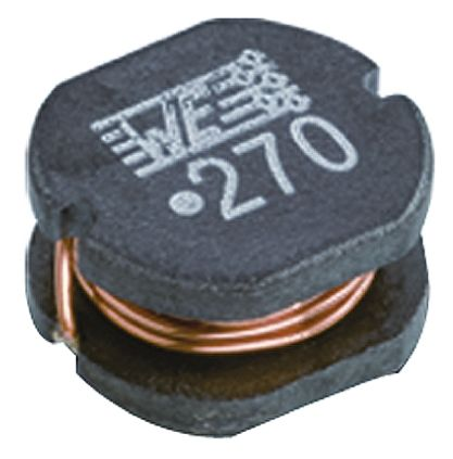 Wurth Elektronik Wurth, WE-PD2, 5820 Unshielded Wire-wound SMD Inductor with a Ferrite Core, 5.6 μH ±20% 2.3A Idc