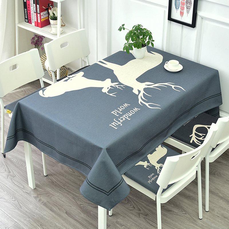 Beddinginn Polyester Animal European Rectangle Tablecloth