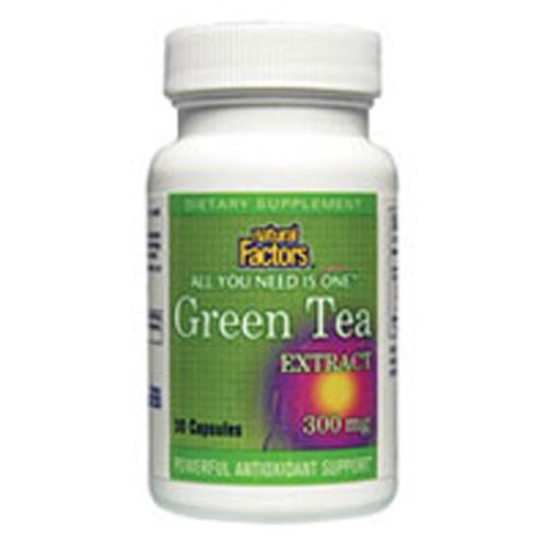 Green Tea Extract 60 Caps by Natural Factors
