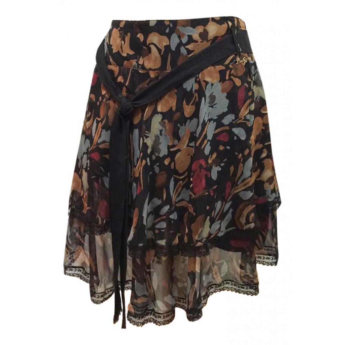 Liu.jo - Jupe   pour femme en soie - multicolore