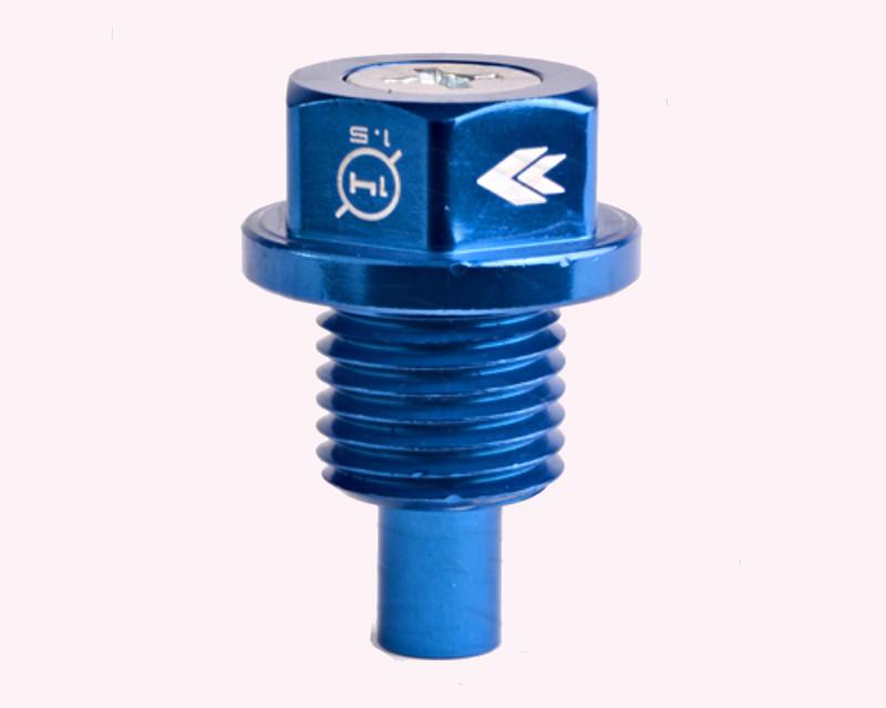 NRG NOP-100BL Blue M14 x 1.5 Magnetic Oil Drain Plug Universal