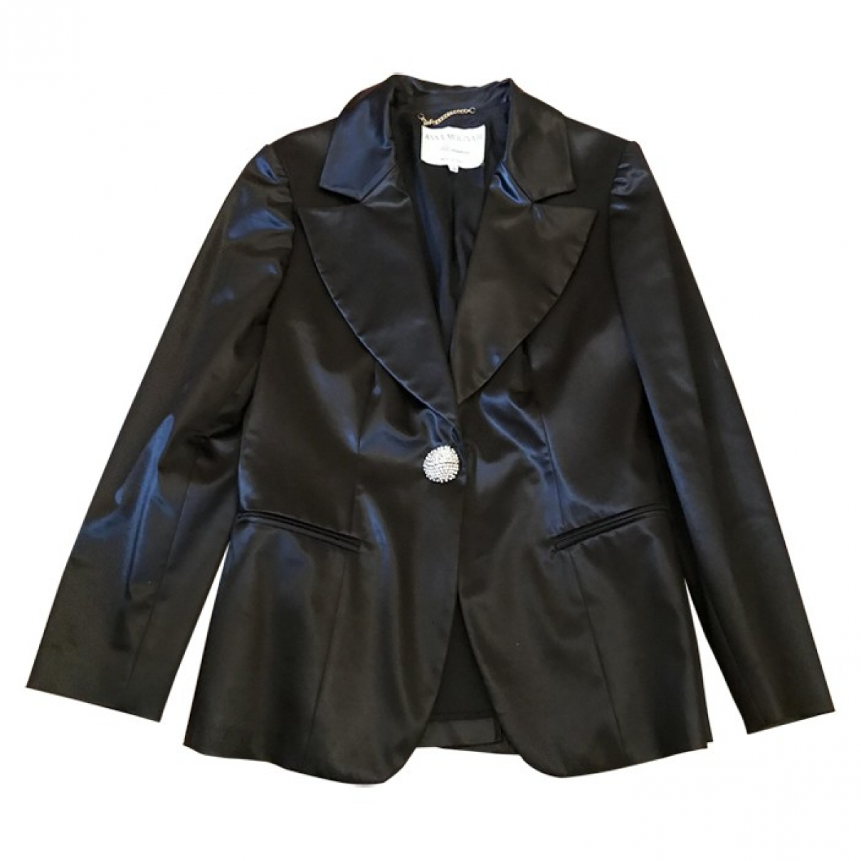 Blumarine \N Black jacket for Women 44 IT