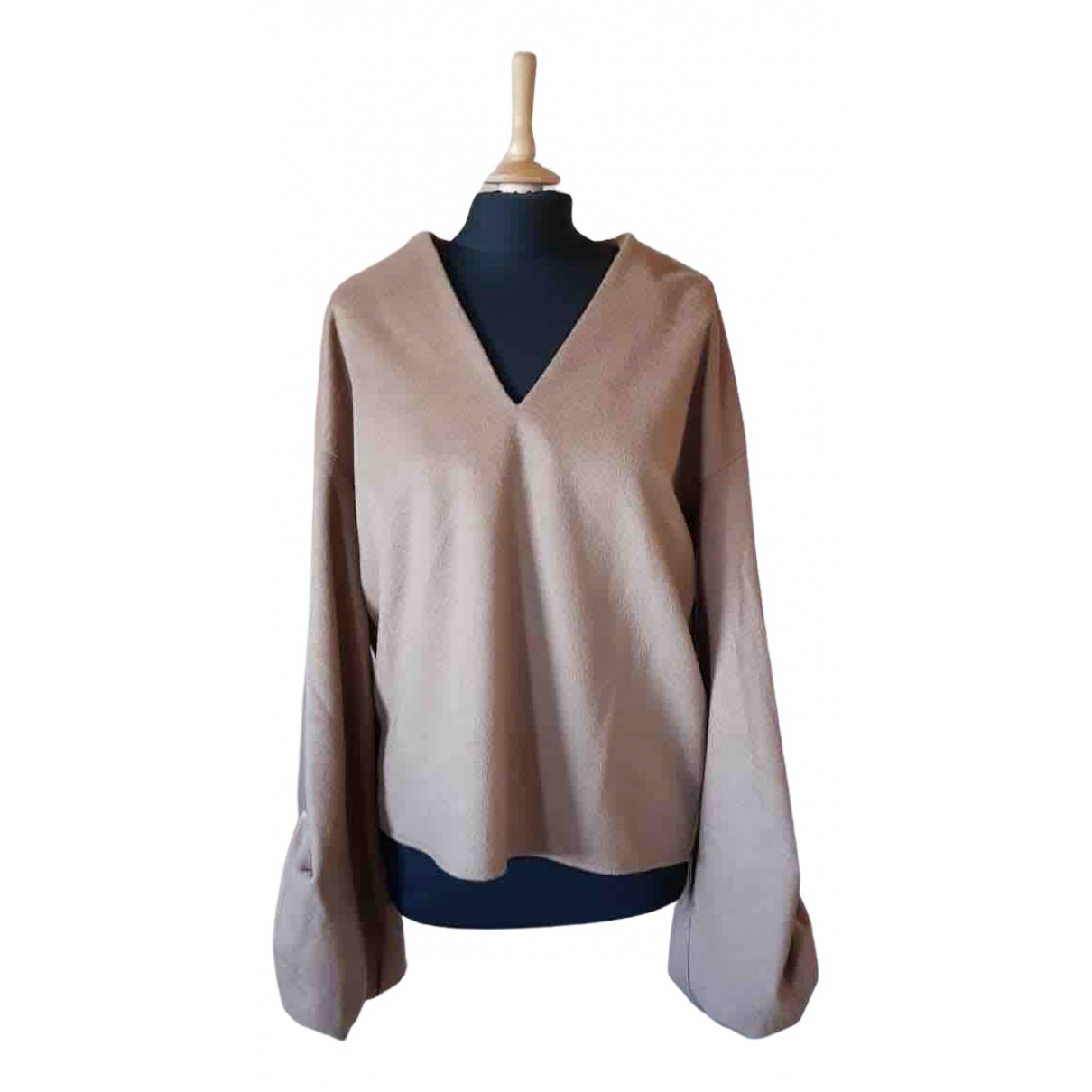 Weili Zheng - Pull   pour femme en laine - beige