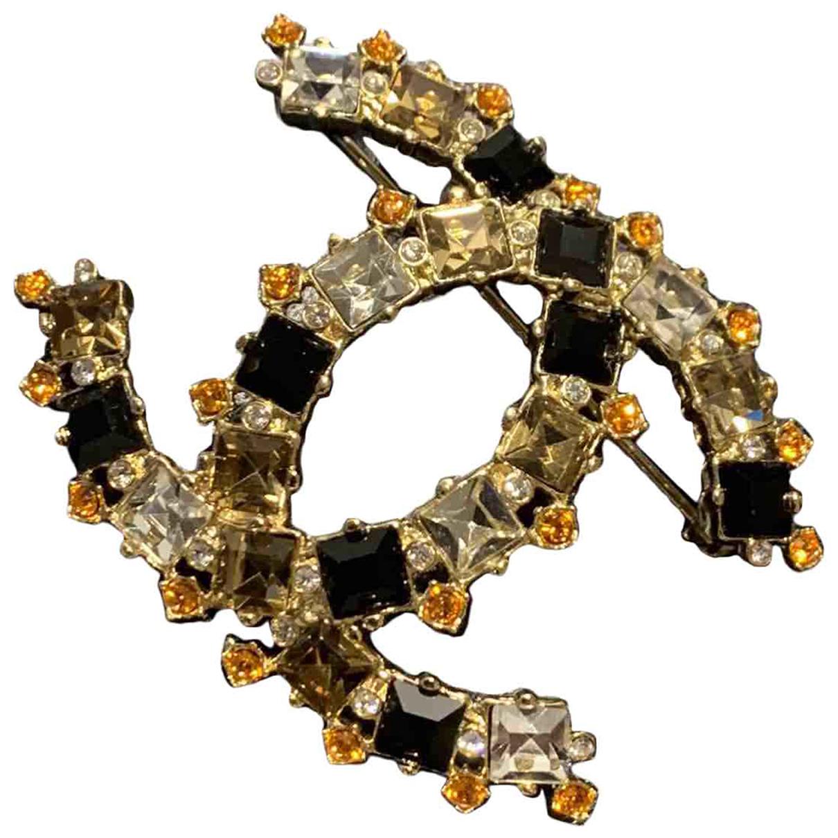 Broche CC Dorado Chanel