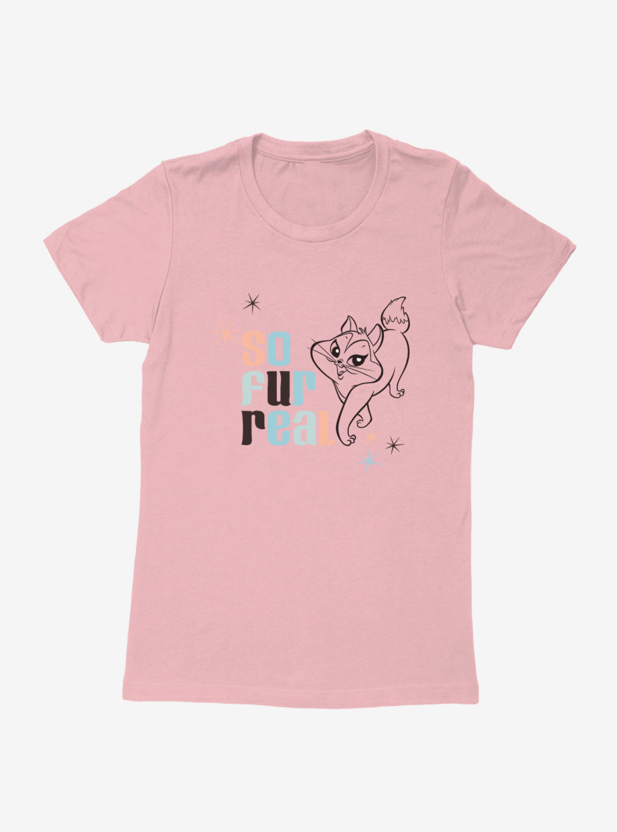 Looney Tunes Summer Fun So Fur Real Womens T-Shirt