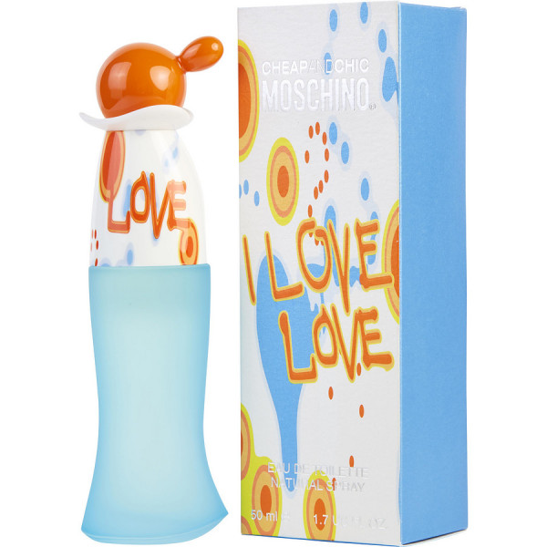 Moschino - I Love Love : Eau de Toilette Spray 1.7 Oz / 50 ml