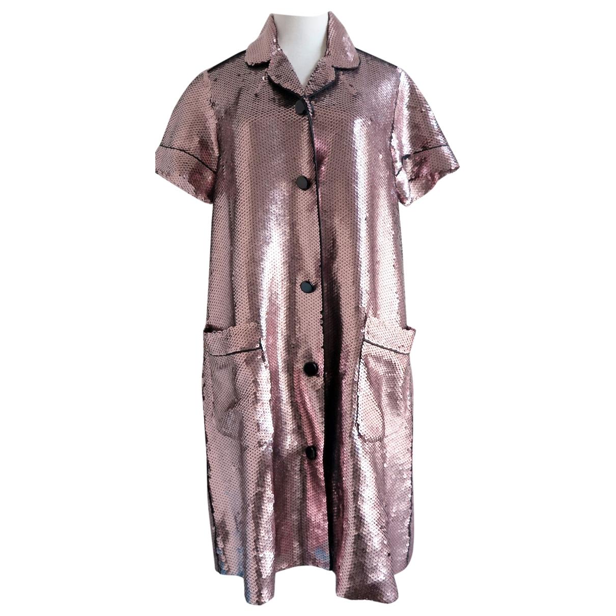 Marc Jacobs \N Kleid in  Metallic Polyester