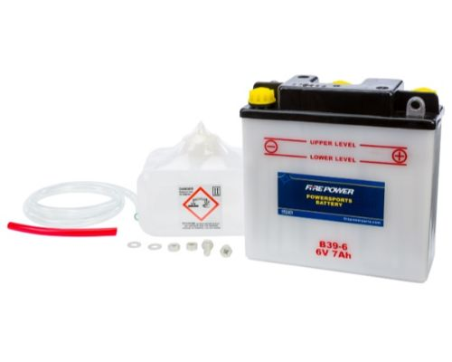 Fire Power Parts 490-2075 Battery W/Acid B39-6 6v 490-2075