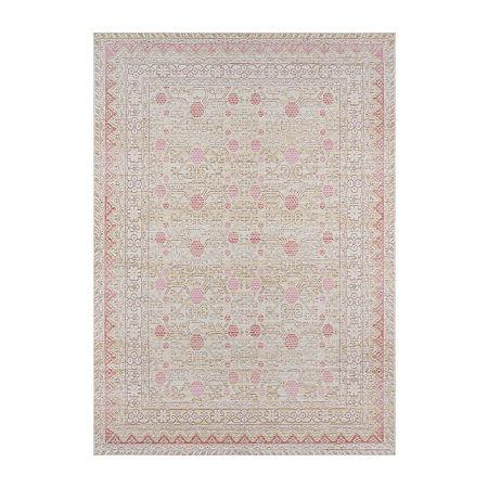 Momeni Isabella 3 Rectangular Indoor Rugs, One Size , Pink