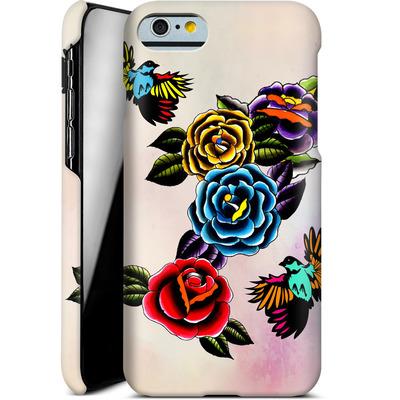 Apple iPhone 6s Smartphone Huelle - Tattoo Roses von Mark Ashkenazi