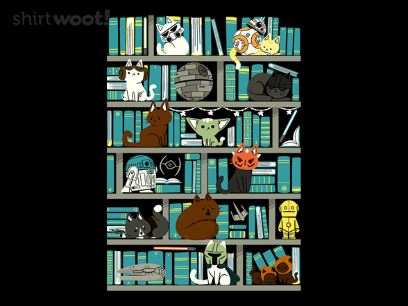 Library Kitten Wars T Shirt