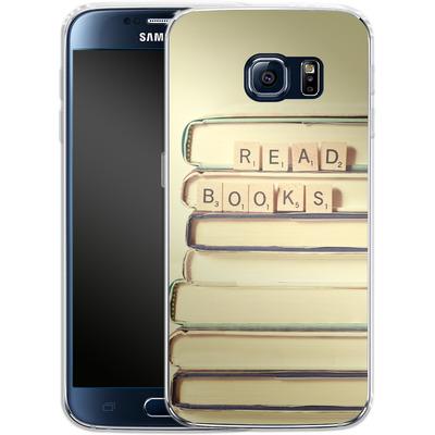 Samsung Galaxy S6 Silikon Handyhuelle - Read Books von Joy StClaire