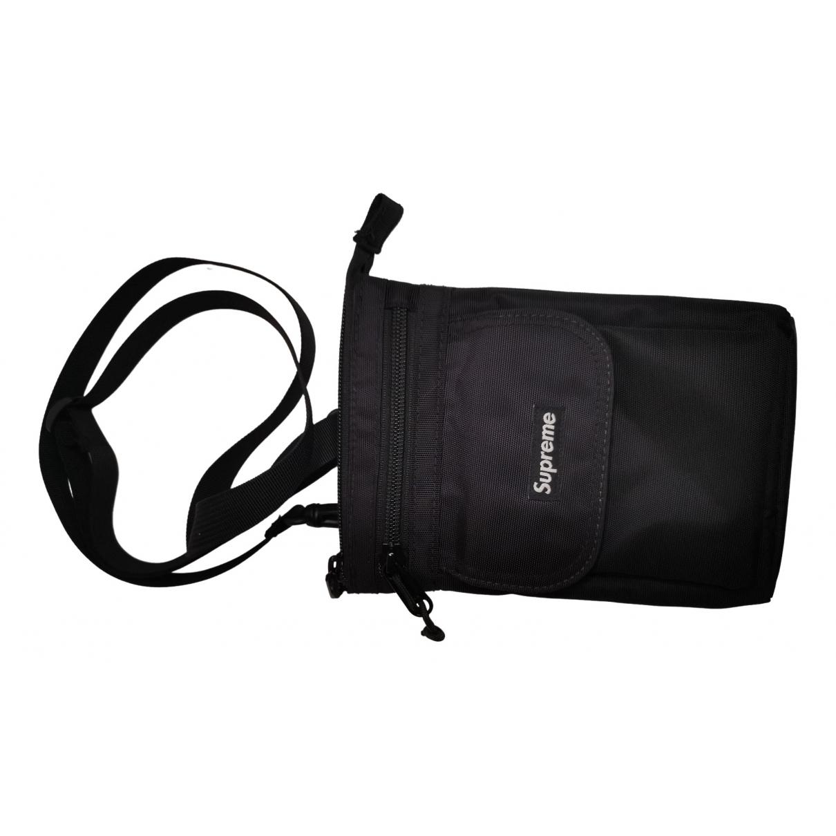 Supreme \N Black handbag for Women \N