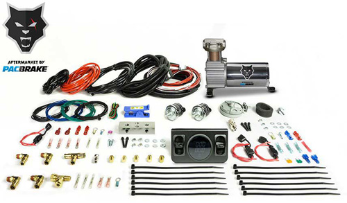 Pacbrake HP10256 Premium In Cab Control Kit For Independent Paddle Valve In Cab Control Kit W/Digital Gauge