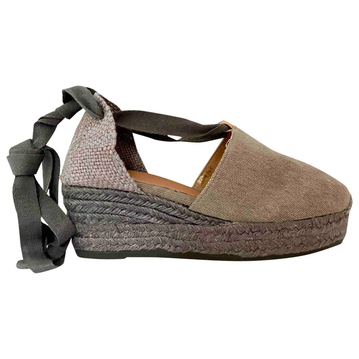 Castaner - Espadrilles   pour femme en toile - gris
