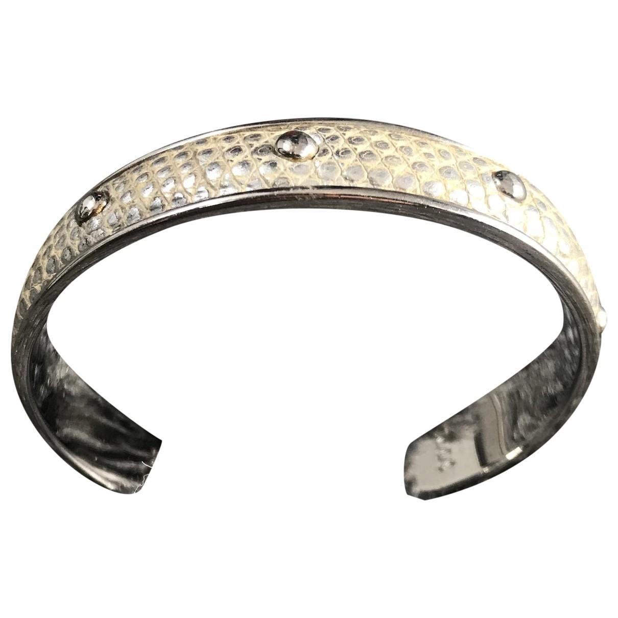 Tods - Bracelet   pour femme en cuir exotique - metallise
